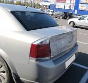 Заказать спойлер на багажник Opel Vectra C (сабля на Опель Вектр