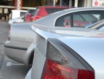 Накладка на крышку багажника для Opel Vectra C (магазин тюнинга