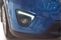 Ходовые огни для Мазда СХ5 черные (DRL Mazda CX5 Black)