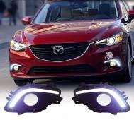 Дневные ходовые огни Мазда 6 GJ (ДХО для Mazda 6 GJ DRL)