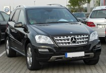 Дневные ходовые огни Mercedes-Benz ML W164 (ДХО для Мерседес МЛ W164 c 2008г)