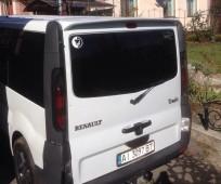 Спойлер Опель Виваро ляда (спойлер задней двери Opel Vivaro одна дверь)