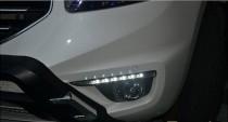 Дневные ходовые огни Рено Колеос 1 (ДХО для Renault Koleos DRL)