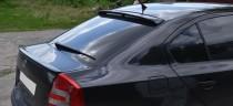 Фирменный задний козырек на стекло Шкода Октавия А5 (дизайн RS)