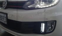 Дневные ходовые огни Фольксваген Гольф 6 (ДХО для Volkswagen Golf 6 GTI)