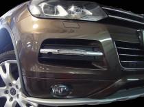 Дневные ходовые огни Фольксваген Туарег 2 (ДХО для Volkswagen Touareg 2 DRL)