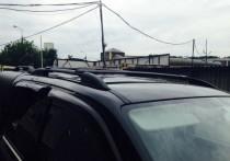 Рейлинги Фольксваген Амарок (рейлинги на крышу Volkswagen Amarok Crown алюминий)