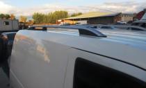 Рейлинги Форд Транзит Коннект (рейлинги на крышу Ford Connect Crown алюминий)