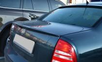 Накладка спойлер на крышку багажника Skoda Superb 1 (сабля спойл
