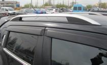 Рейлинги на Ниссан Жук (рейлинги Nissan Juke Crown.алюминий)