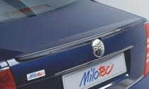 Спойлер Шкода Суперб 1 (задний спойлер на багажник Skoda Superb 1 дизайн Milotec)