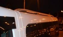 Рейлинги на Рено Трафик (рейлинги Renault Trafic Crown.алюминий)