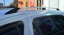Рейлинги на Ситроен Берлинго 2 (рейлинги Citroen Berlingo 2 концевик. пласт)