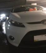 Реснички на фары Форд Фиеста МК6 (купить реснички на передние фа