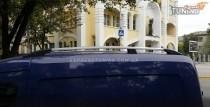 Рейлинги на крышу Опель Комбо С (рейлинги Opel Combo C концевик.метал)