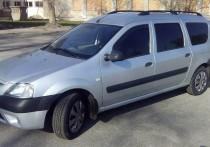 Рейлинги на крышу Дачия Логан универсал (рейлинги Dacia Logan MCV концевик.метал.)