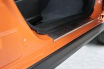 заказать Накладки на пороги Субару XV (защитные накладки Subaru