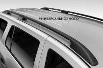 Рейлинги Фиат Добло 2 (рейлинги на крышу Fiat Doblo 2 концевик. пласт.)