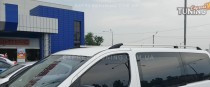 Рейлинги на Хендай Н1 (рейлинги Hyundai H-1 концевик.пласт.)