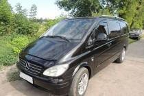 Рейлинги для автомобиля Mercedes Vito W639 (продольные рейлинги