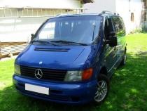 купить Рейлинги на Mercedes Vito W638  (продольные рейлинги Мерс