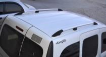 Рейлинги на Рено Кангу 1 (рейлинги Renault Kangoo 1 концевик. пласт.)