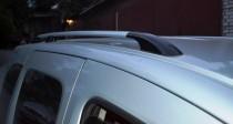 Рейлинги на Рено Кангу 2 (рейлинги Renault Kangoo 2 концевик.пласт.)