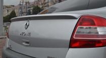 Задний спойлер на крышку багажника Renault Megane 2 (фото Expres