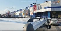 Рейлинги на крышу Рено Трафик (рейлинги Renault Trafic концевик.метал.)