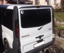 Спойлер Рено Трафик одна дверь (задний спойлер на Renault Trafic ляда)
