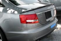 Оригинальный спойлер на крышку багажника Audi A6 C6 (спойлер для