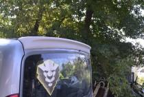 Спойлер Фиат Добло 2 (задний спойлер на Fiat Doblo 2 ляда)