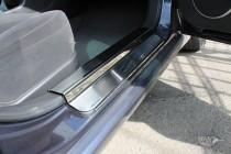 Накладки на пороги Шевроле Эпика (защитные накладки Chevrolet Epica)