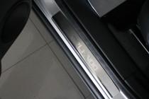 Накладки на пороги Шевроле Орландо (защитные накладки Chevrolet Orlando)