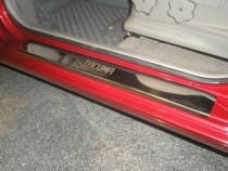 Накладки на пороги Шевроле Такума (защитные накладки Chevrolet Tacuma)