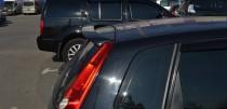 Накладка задней двери Форд Фиеста 5 (спойлер для Fiesta 5)