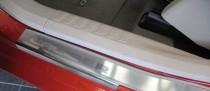 Накладки на пороги Додж Калибер (защитные накладки Dodge Caliber)