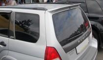 Задний спойлер-козырек на Субару Форестер 2 (антикрыло Subaru Fo