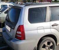 Установка спойлера на Subaru Forester 2 поколения