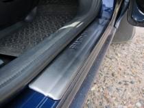 Накладки на пороги Форд Фьюжн в магазине expresstuning (защитные