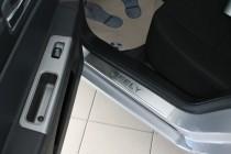 купить Накладки на пороги Джили СК 2 (защитные накладки Geely CK
