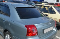 Тюнинг спойлер на багажник Toyota Avensis 2 оригинал