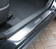 Накладки на пороги Киа Сид 1 5Д (защитные накладки на пороги Kia Ceed 1 5D)