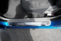 Накладки на пороги Киа Церато 3 (защитные накладки Kia Cerato 3)