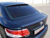 Купить оригинальный спойлер на багажник Toyota Avensis 3 (сабля