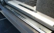 Накладки на пороги Ленд Ровер Дискавери 3 (защитные накладки Land Rover Discovery 3)