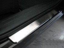 Накладки на пороги Мазда СХ-9 (защитные накладки Mazda CX-9)
