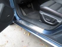 Накладки на пороги Мазда 6 GJ (защитные накладки Mazda 6 GJ)