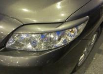 Накладки на передние фары Тойота Королла 9 седан (купить ресничк