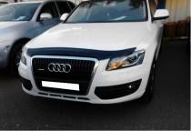 Мухобойка на капот Ауди Q5 (дефлектор на капота Audi Q5)